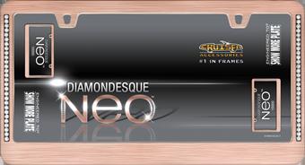 Cruiser Accessories Neo Diamondesque Rose Gold License