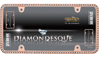 Diamondesque, Rose Gold/Clear
