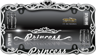 Princess, Chrome/Black
