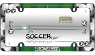 Live Soccer, Chrome with fastener caps