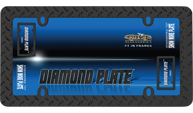 Diamond Plate, Matte Black