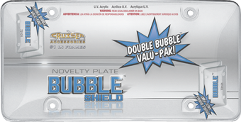 Double Bubble Valu-Pak, Clear