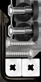 Cruiser Accessories License Plate Frame Locking