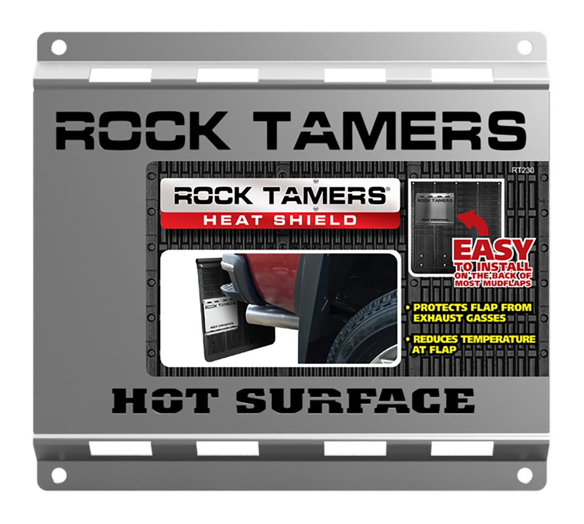 Cruiser Accessories RT220 Rock Tamers Bolt Bumpers